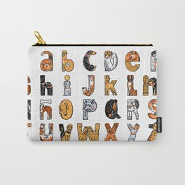 Perruna Font / Dog font Carry-All Pouch