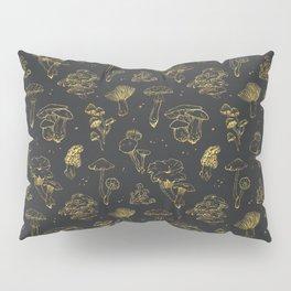 Golden mushrooms Pillow Sham