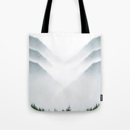 Fog & Mirrors Tote Bag