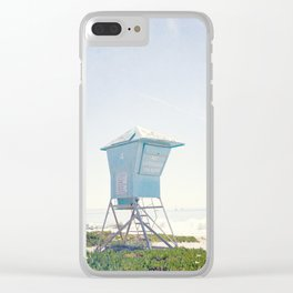 California Summer Clear iPhone Case