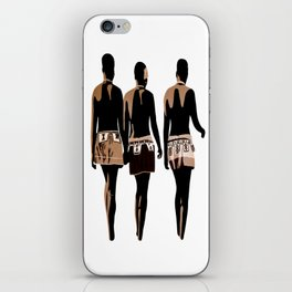 zulu sisters iPhone Skin