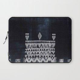 Arteresting V48 - Indigo Anthropologie Bohemien Traditional Moroccan Design Laptop Sleeve