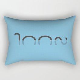 Loch Ness Typo Rectangular Pillow