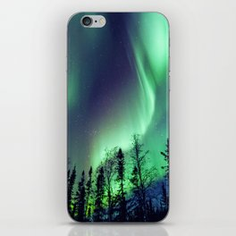 Northern Lights in Yellowknife iPhone Skin