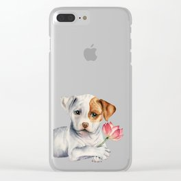 Flower Child Clear iPhone Case