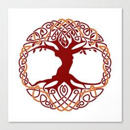 Yggdrasil Tree Of Life Canvas Print