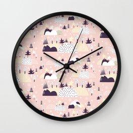 Lumihattara Wall Clock