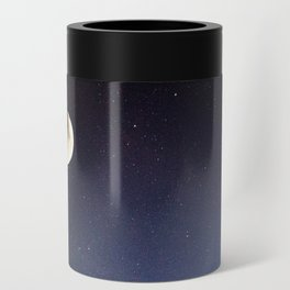 Moon and stars Can Cooler