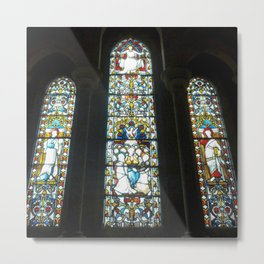 Christchurch Windows Metal Print