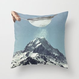 Sifted Summit Throw Pillow