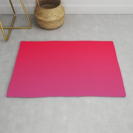 Cerise Pink Gradient Rug