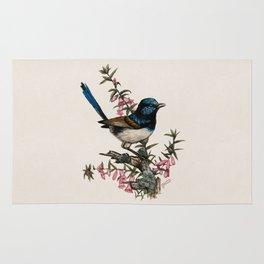 Australian Blue Wren Rug