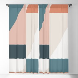 Cirque 01 Abstract Geometric Blackout Curtain