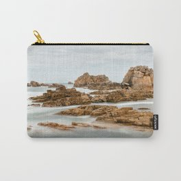 Waves splashing against rocks II Carry-All Pouch