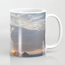 Sunrise at Peggys Cove Lighthouse in Nova Scotia Coffee Mug