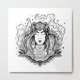 Sleeping Beauty (Daily Sketch Series) Metal Print