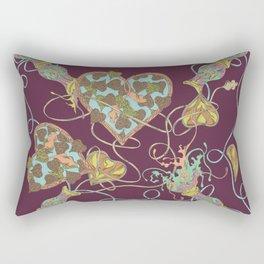 Boysenberry Forest Rectangular Pillow