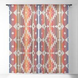 POW WOW Sheer Curtain