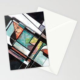 Mapping Moments 001 (Thoughts on Constructivism) Stationery Cards