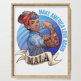 MALA - Make America Love Again Serving Tray