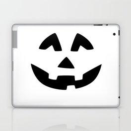 Cute Jack O'Lantern Face Laptop & iPad Skin
