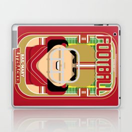 American Football Red and Gold -  Hail-Mary Blitzsacker - Amy version Laptop & iPad Skin
