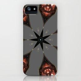 Lava Demon Convergence iPhone Case