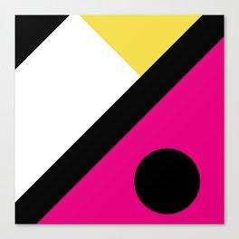 Fox Face Pink Canvas Print