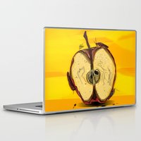 "lebron Laptop & iPad Skins featuring ""The Big Apple""  by SaintCastro"