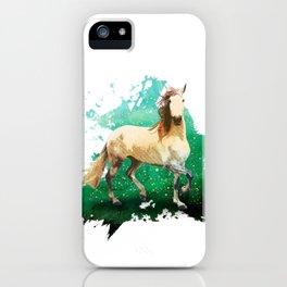 The wonderful horse iPhone Case