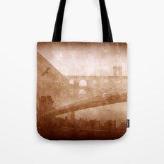 Vintage Bridge 2x Tote Bag