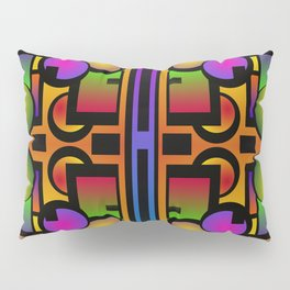 Shapes Of Things Pillow Sham