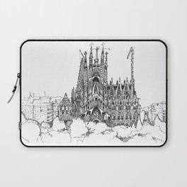 Fine Point_Sagrada Família_Barcelona Laptop Sleeve