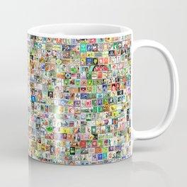 Tennis Stamps Coffee Mug