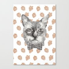Gentle cat Canvas Print