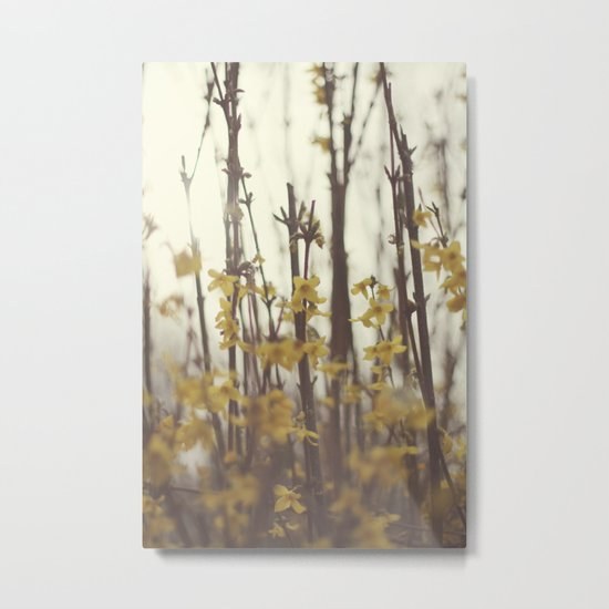Golden Bells Metal Print