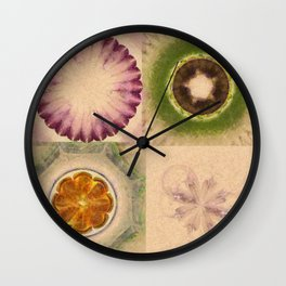 Carpincho Wraith Flower  ID:16165-041255-38370 Wall Clock