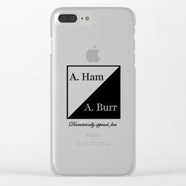 A. Ham / A. Burr Clear iPhone Case