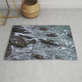 High Tide and Rock Formation Rug