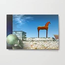 The Ten-Years War is Finished Metal Print