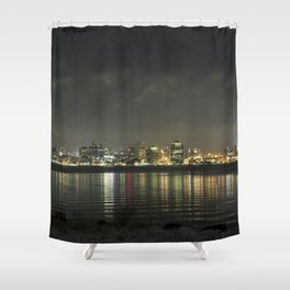 Halifax at Night (1) Shower Curtain