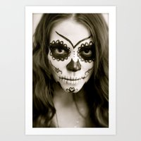Fell In Love With A Zombie Art Print