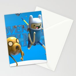 C'mon Grab a friend. Stationery Cards
