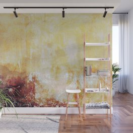 Sunny Landscape Abstract Wall Mural
