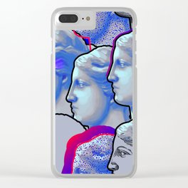 Venus de Milo sculptures Clear iPhone Case