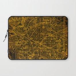 Washington West Columbia map year 1945 Laptop Sleeve