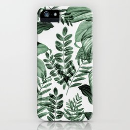 Tropical Rainforest - greenery iPhone Case