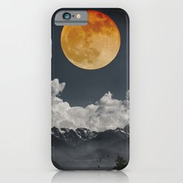 Moon Melodies iPhone Case
