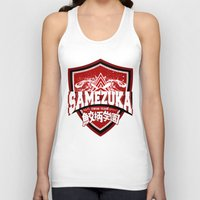 iwatobi Tank Tops featuring SAMEZUKA PRIDE by Cup of June