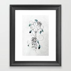 Poetic Key of Luck  Framed Art Print